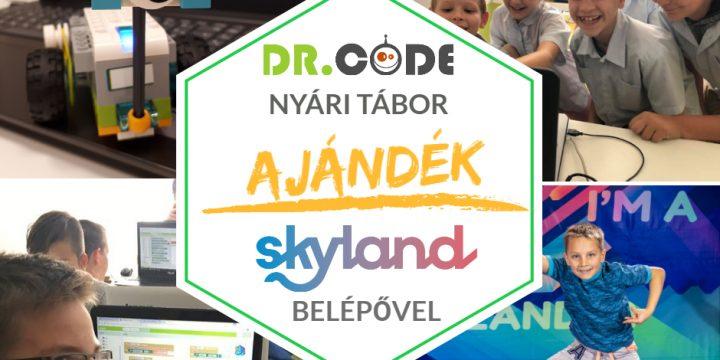 Ajándék Skyland belépőjegy